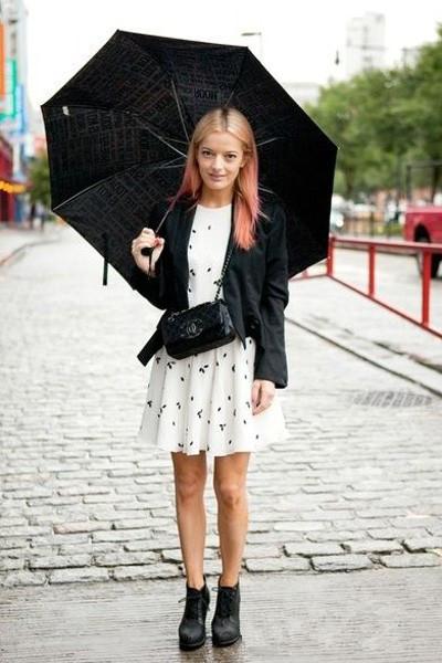 矮个子女生情人节穿衣搭配 小西装连衣裙少女Style