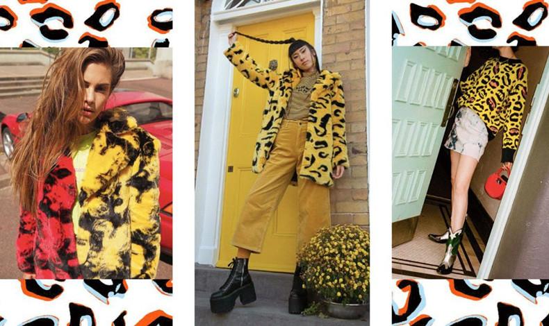 2018秋冬流行穿搭女 熒光色動物紋怎么穿好好這些大火元素