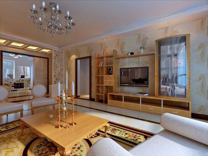 四室两厅装修效果图 洛可可风格演绎极致简欧生活
