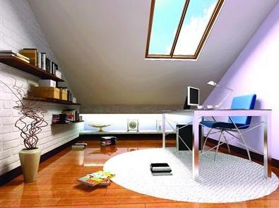 看阁楼装修效果图 品阁楼的装修历程 (11)