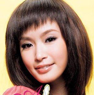 刘海女生头像小眼睛