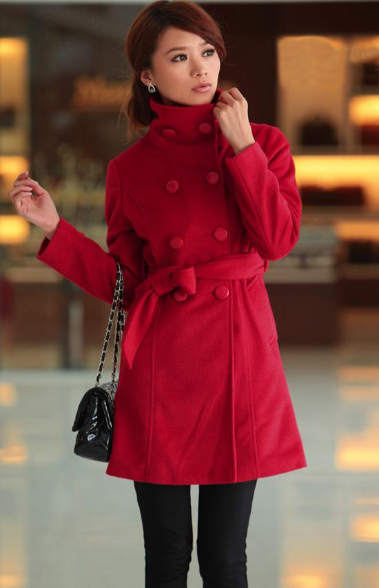 橘红色外套如何搭配 可爱免子春节必穿