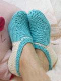视频 郑多燕/毛线袜套的编织方法教你如何手工编织毛线袜2011/01/13 新年...