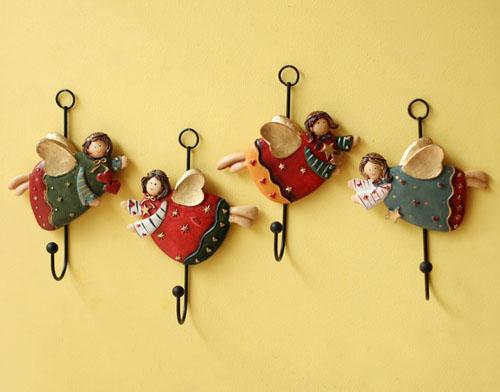 10款新年小饰品挂钩 营造温馨美式乡村田园风格家装图片