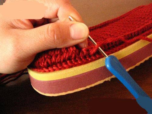 宝宝鞋子的织法图解