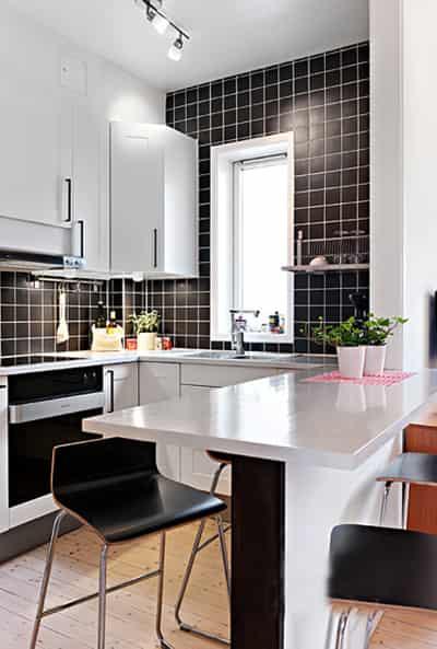 40平米单身 公寓女生房间 装修效果图 3 七丽高清图片