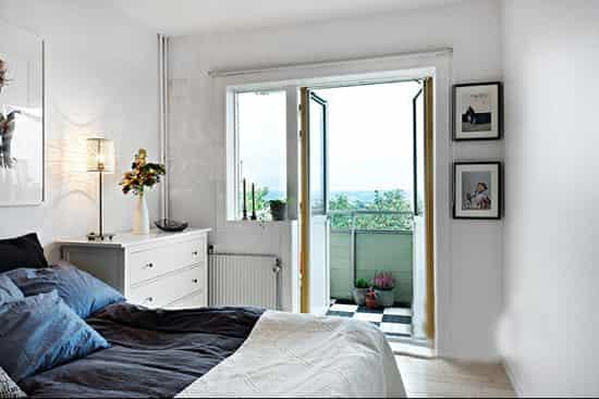 40平米单身公寓女生房间装修效果图