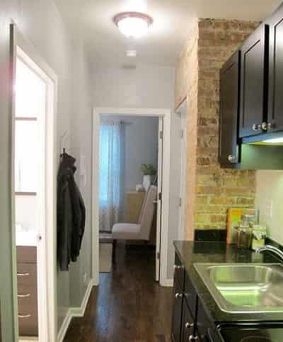 30平米小户型装修效果图 打造单身公寓摩登蜗居 (10)