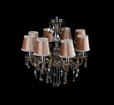 欧式水晶灯,看看这些客厅吊顶灯效果图是否有符合自己家的装修风格