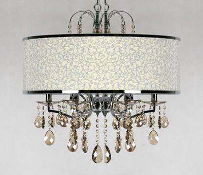 2011新款欧式水晶灯 7款客厅吊顶灯效果图