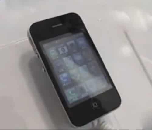尼彩i8 手机配置图片 高仿苹果手机只卖399