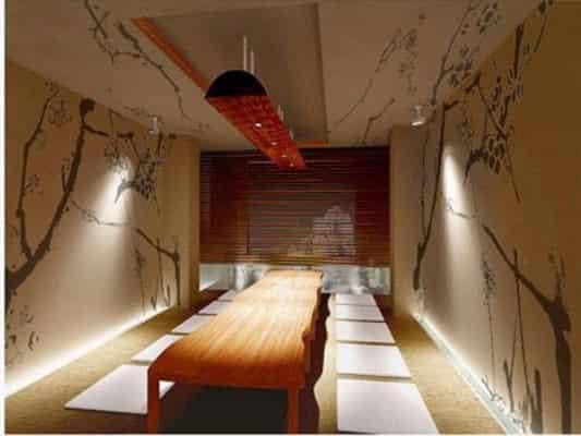 室内设计手绘背景墙 背景墙装修效果图鉴赏