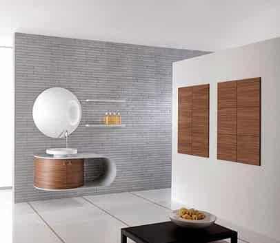 装修 卫浴/小户型卫浴装修图片 现代简约风格卫浴柜设计鉴赏