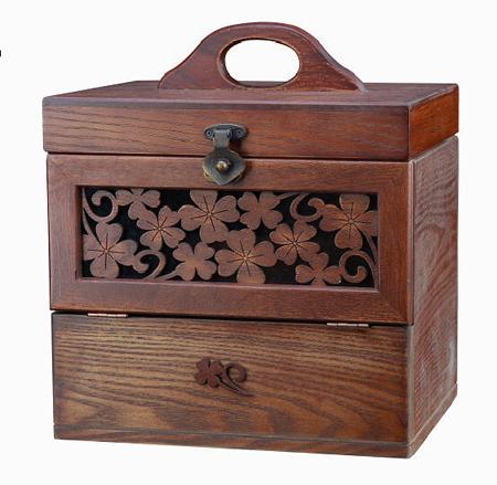 木棉花高档木质首饰盒 持久不变的公主梦