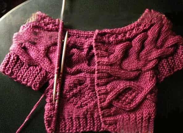 韓版毛衣編織花樣圖解