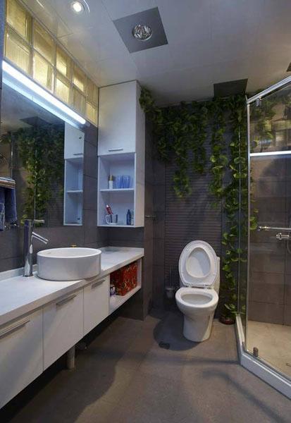 90平米房子装修设计效果图 打造现代大时尚家居 (5)