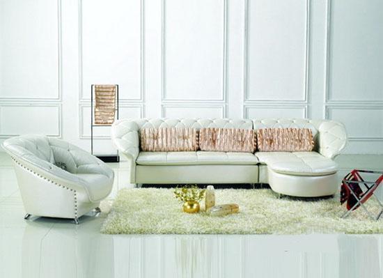 中国十大品牌皮沙发 打造6款超时尚简约欧式皮沙发