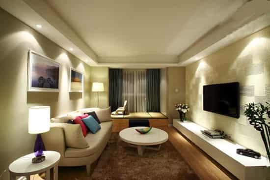 30平方客厅装修效果图大全 让你领略不一样的时尚生活