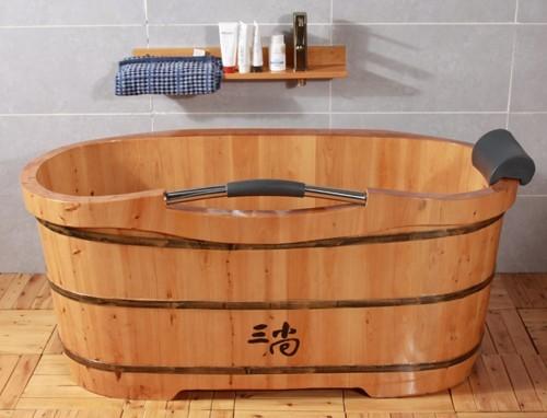 此款木浴桶,源自木桶世家的传承技艺