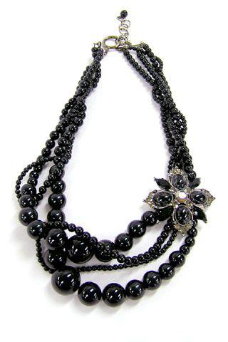 欧式古典风项链饰品 流行时尚饰品打造异域美人