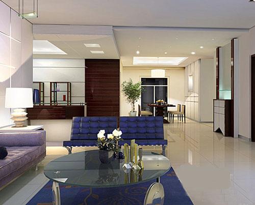 欧式家装客厅效果图大全