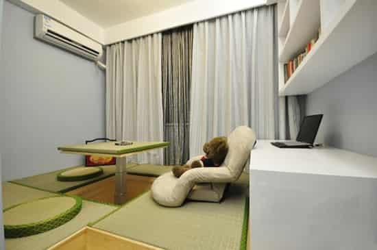 简约时尚125平方米平房室内装修效果图大全