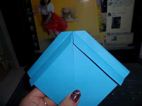 旧千纸鹤的折法图解_新千纸鹤的折法图解