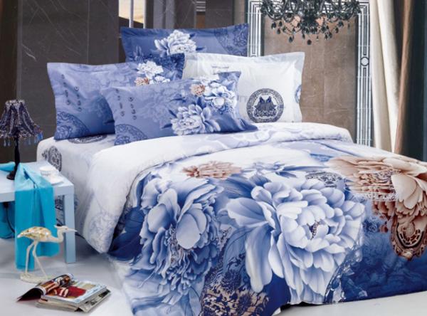 家纺/田园风格欧式碎花床上用品图片 陪伴你每天和世界道一声晚安