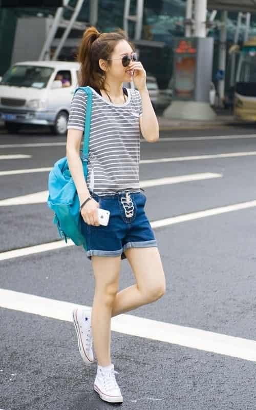 2011年夏季女生休闲服装搭配