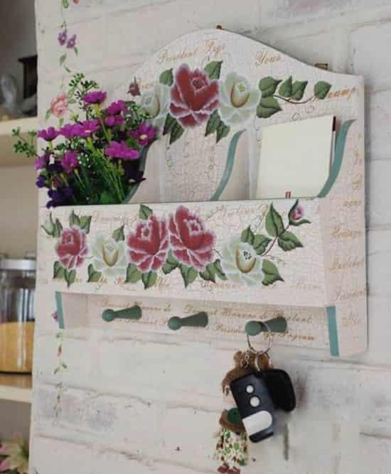 鲜花手绘衣服设计