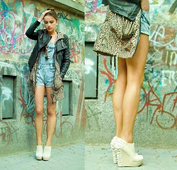 风景 短裤/穿休闲短裤配什么鞋最好看牛仔裤搭配帆布鞋外的风景