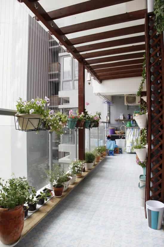家庭露台小花园