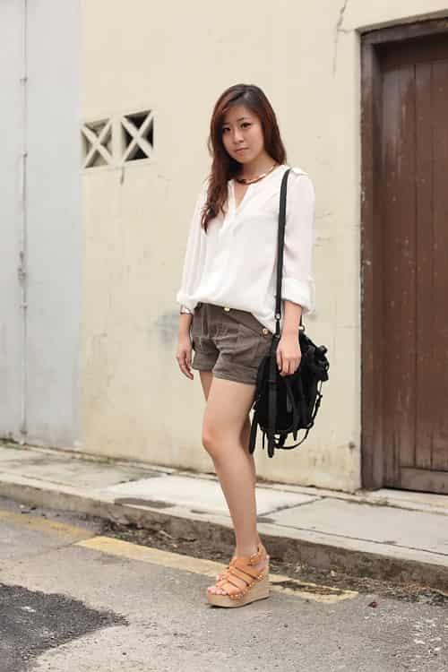 新加坡美女多吗 街头时尚潮人街拍图片 七丽