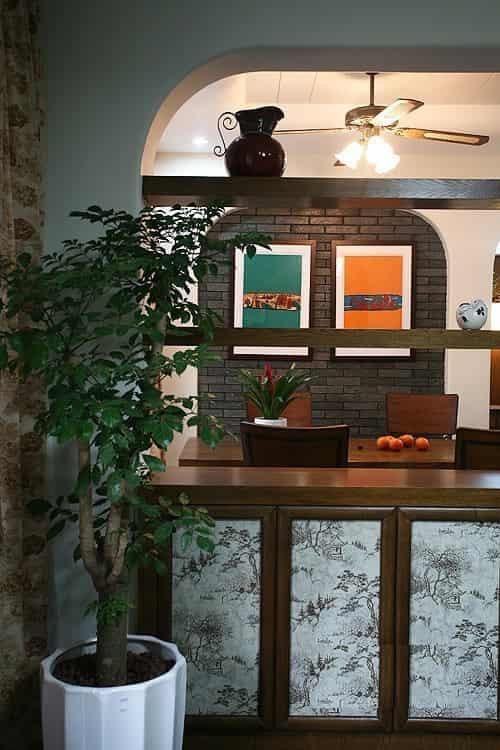 简中式家居装修风格效果图