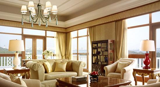 2011欧式古典风格客厅装修效果图