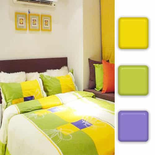 室内装修暖色系色彩搭配