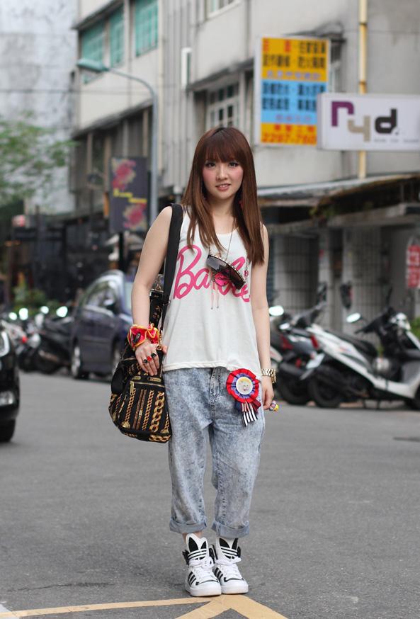 街拍 香港/2011年7月香港夏季最新潮流街拍