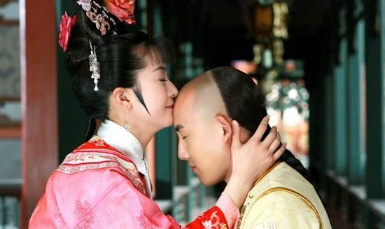 新还珠格格李晟张睿吻戏花絮集锦