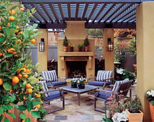 家庭入户花园设计装修效果图片带你寻找大自然的气息