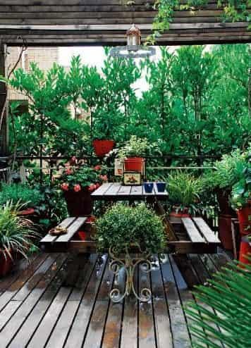 板岩砖入户花园设计图展示