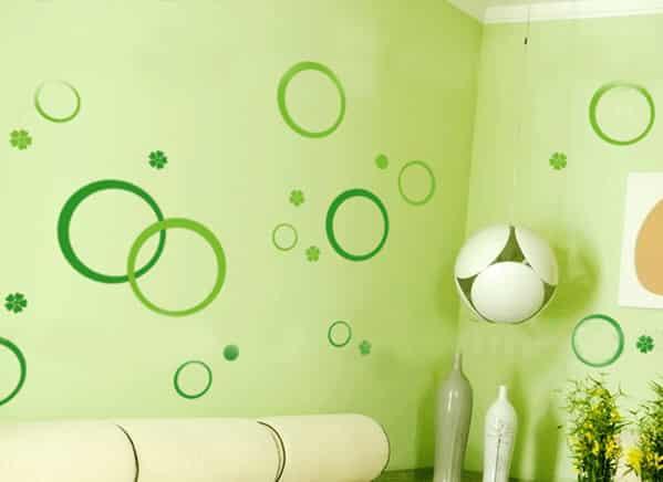 家居墙纸装饰品图片 究竟是爱大自然还是爱装萌 (5)