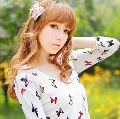 中长发大卷发型图片 秋季里的浪漫调味剂 (3)
