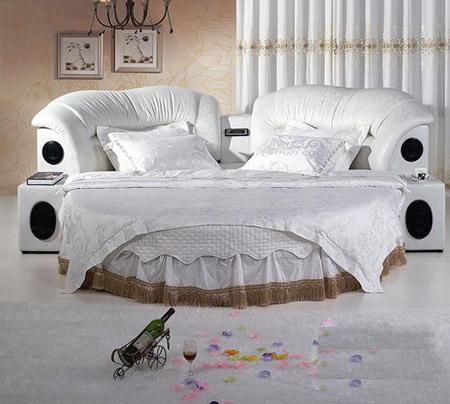 欧式豪华品牌圆床尺寸