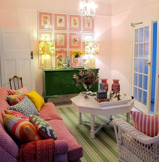 家庭室内装修颜色搭配技巧