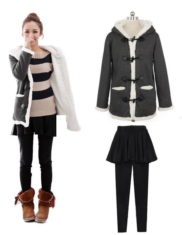 2012年最流行的服装 韩式冬季服装搭配的技巧