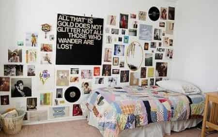北欧式女生卧室装修效果图