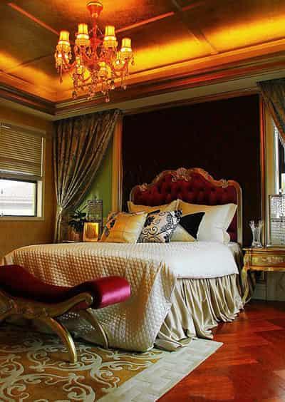 家居卧室装修效果图片 展现欧式奢华风格设计