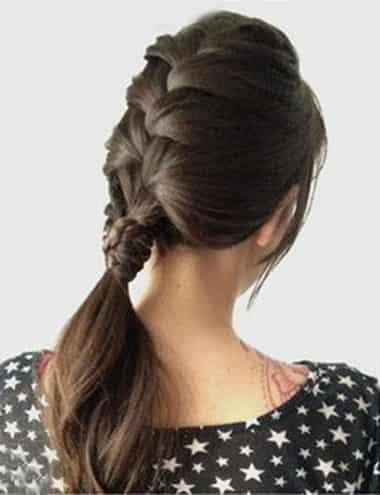 韩式长发发型扎法步骤 教你2012流行韩式扎发 (13)图片