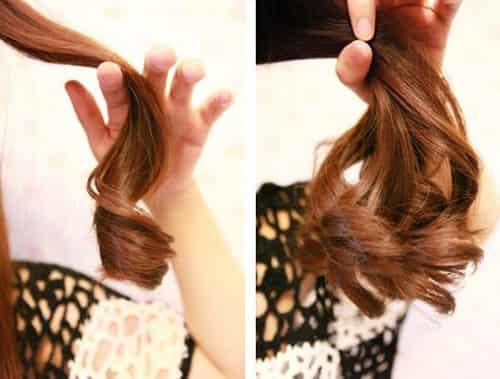 甜美大卷女生发型教程