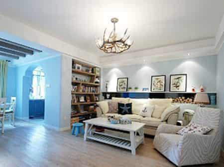 地中海家居风格装修设计 简约风格中的素雅和清爽 (4)